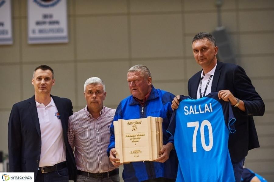 70 éves Sallai József
