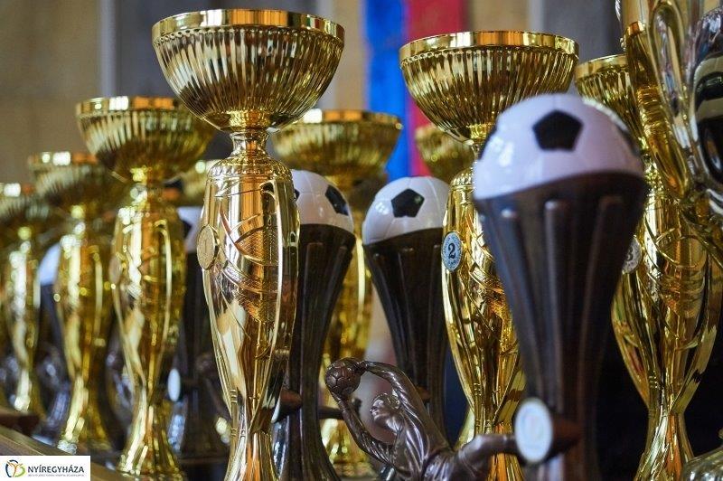 Kispályás foci díjátadó 2018.