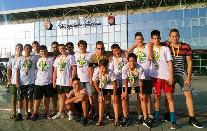 Nemzetközi Kézilabda Fesztiválon az NYSC U14-es csapata