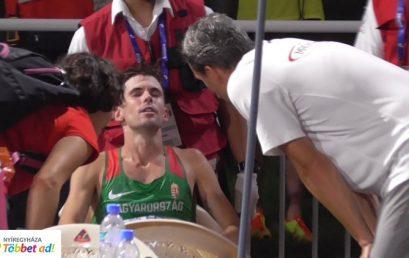 Legyőzte a meleg – világbajnokság után, olimpia előtt Helebrandt Máté