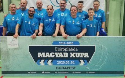 Magyar Kupa győztes lett az NYSC ülőröplabda csapata