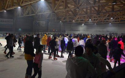 Rekordszámú látogató vette igénybe a Nyíregyházi Városi Jégpályát