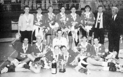 20 éve lett először bajnok Nyíregyháza női röplabda csapata