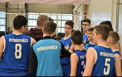 """Az U14-es fiú kosarasok bronzérmesek lettek a """"B"""" döntőn"""