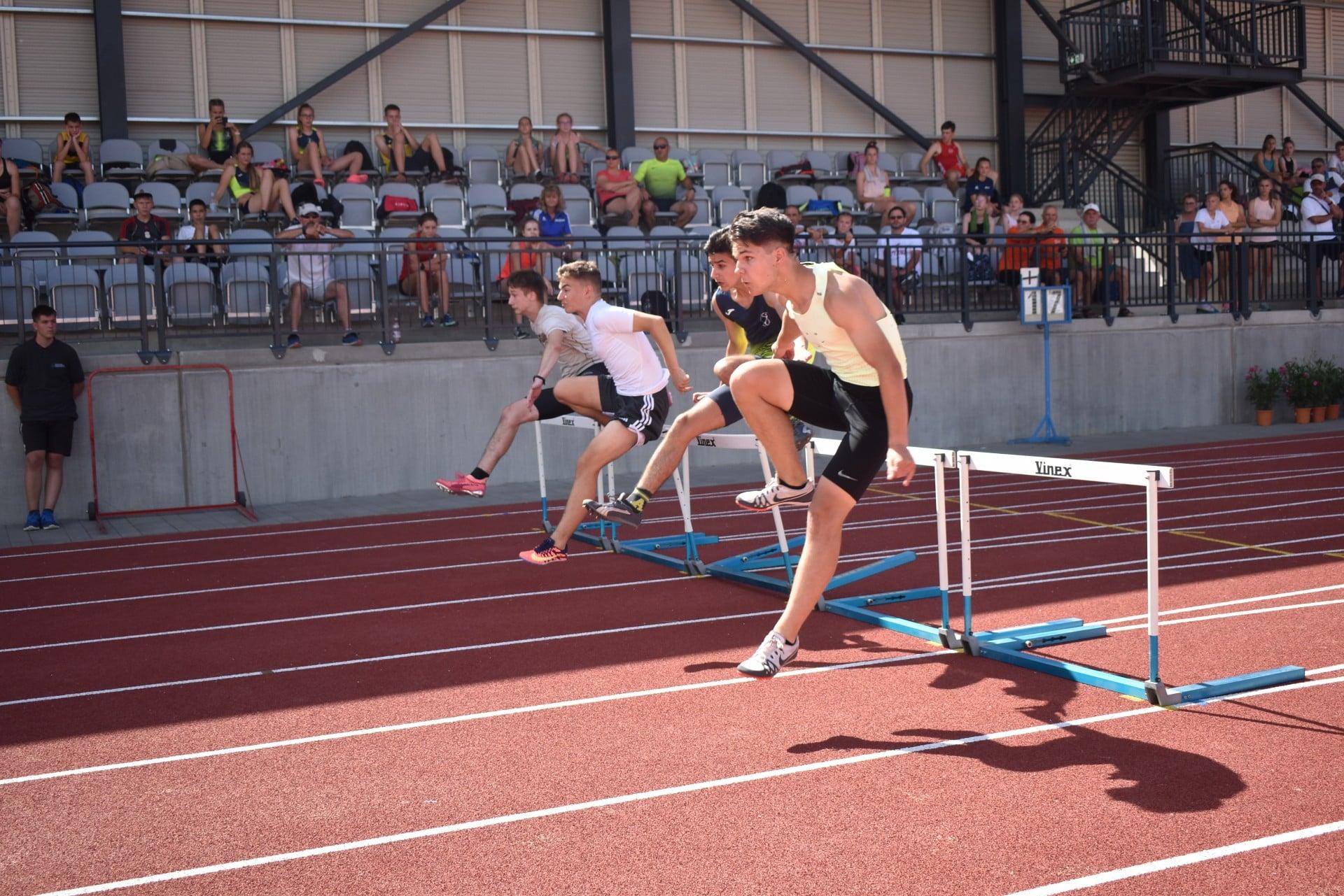 U16 és U14 Atlétikai Bajnokság DK terület – 2.forduló Nyíregyháza, Atlétikai Centrum II.nap