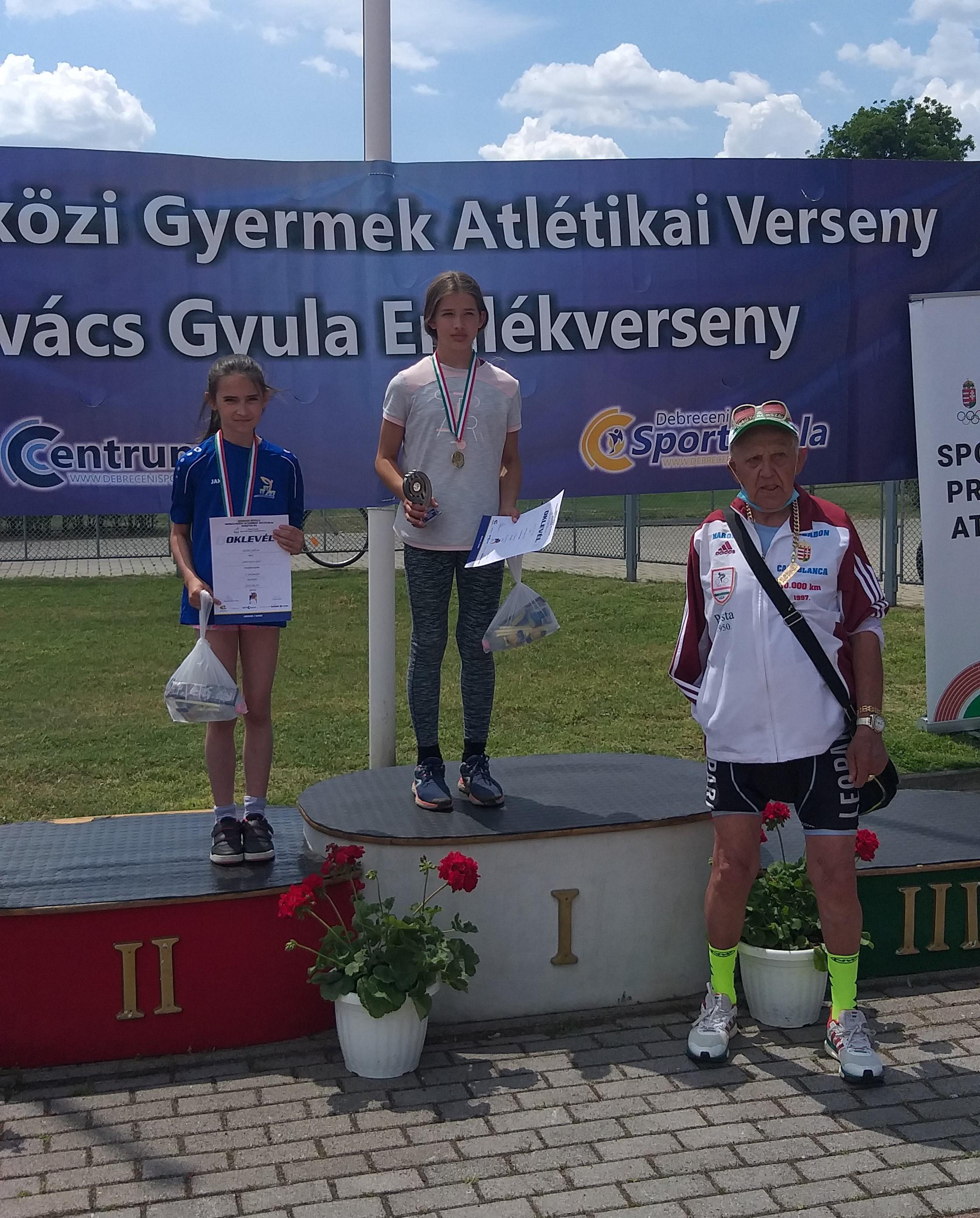 Kovás Gyula Gyermek Atlétikai Fesztivál Debrecenben