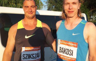 Óriási versenyek, egyéni csúcsok a Gyulai István Memorialon