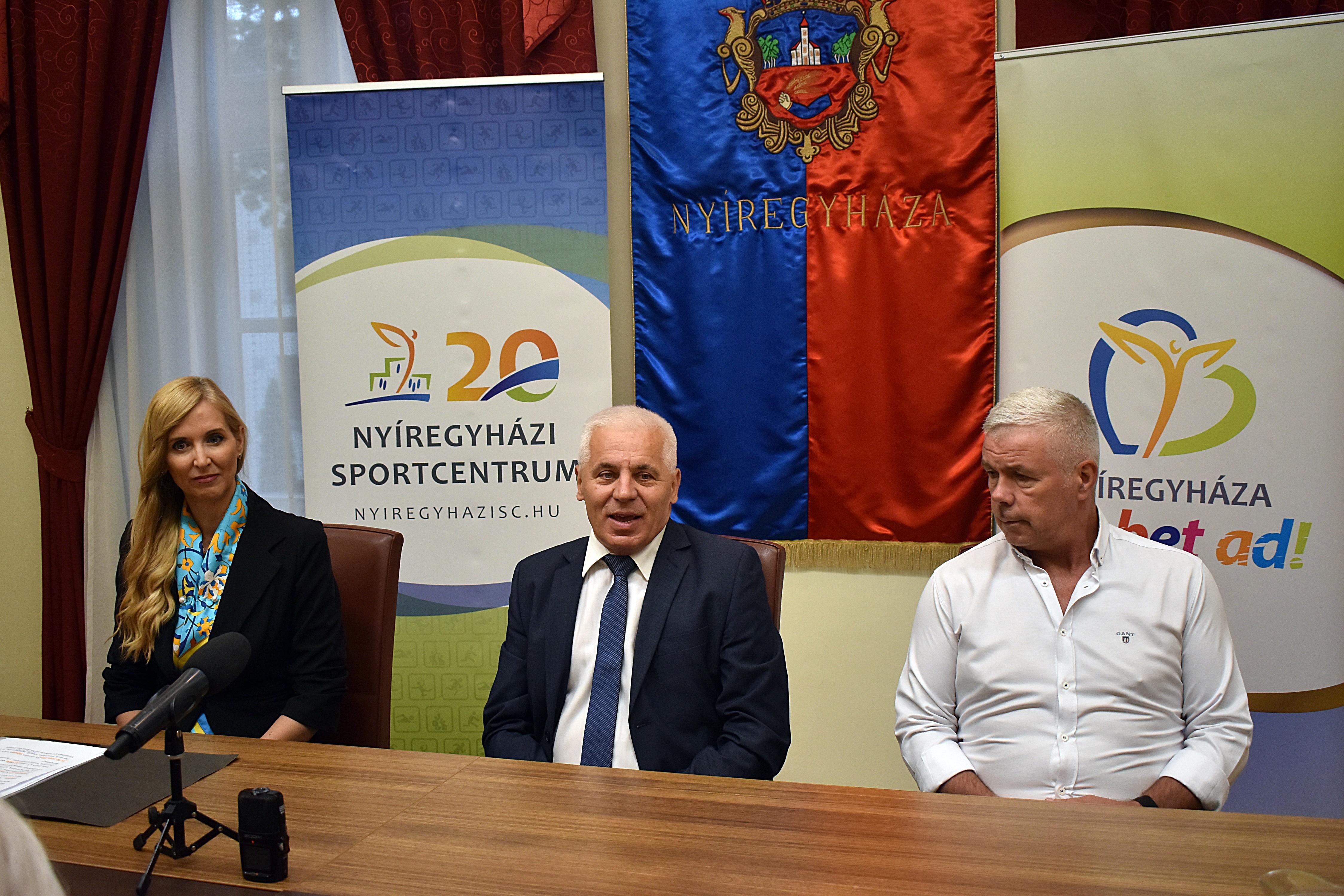 Kiemelt állami támogatásban részesül a Nyíregyházi Sportcentrum