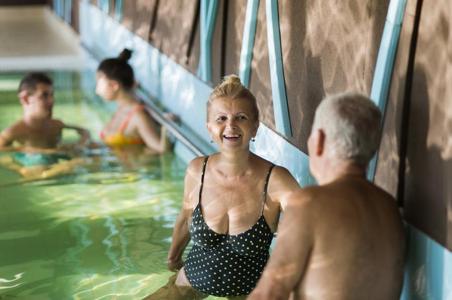 Sikeres a nyugdíjas fürdőprogram