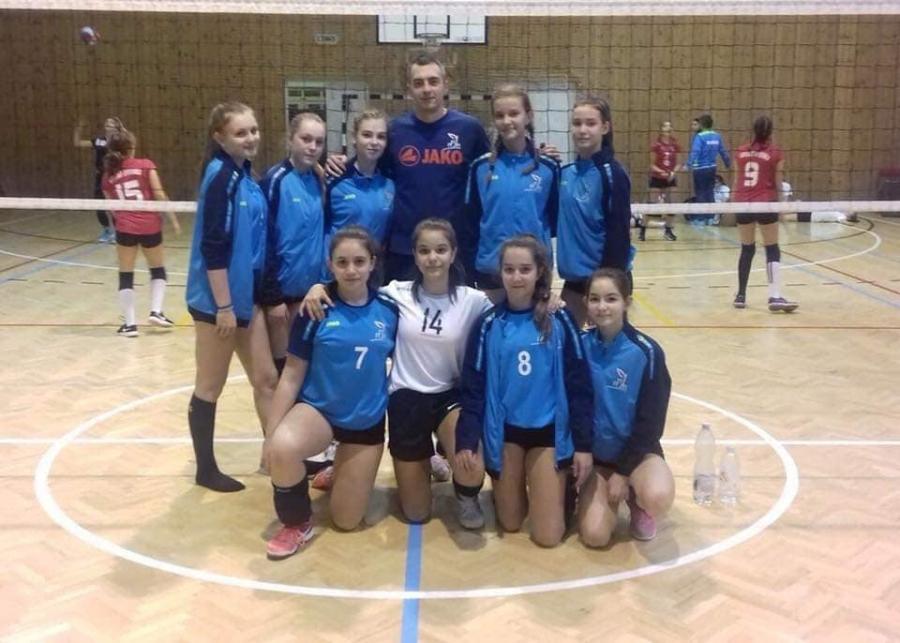 Csoportelsők – Eddig a legjobb a Nyíregyházi Sportcentrum U15 röplabda csapata